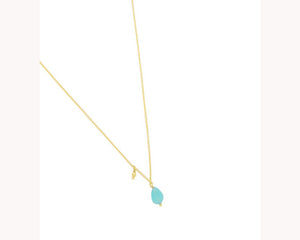 Color pendant gold plated Dubai