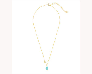 Waterdrop Pendant Gold Necklace Dubai