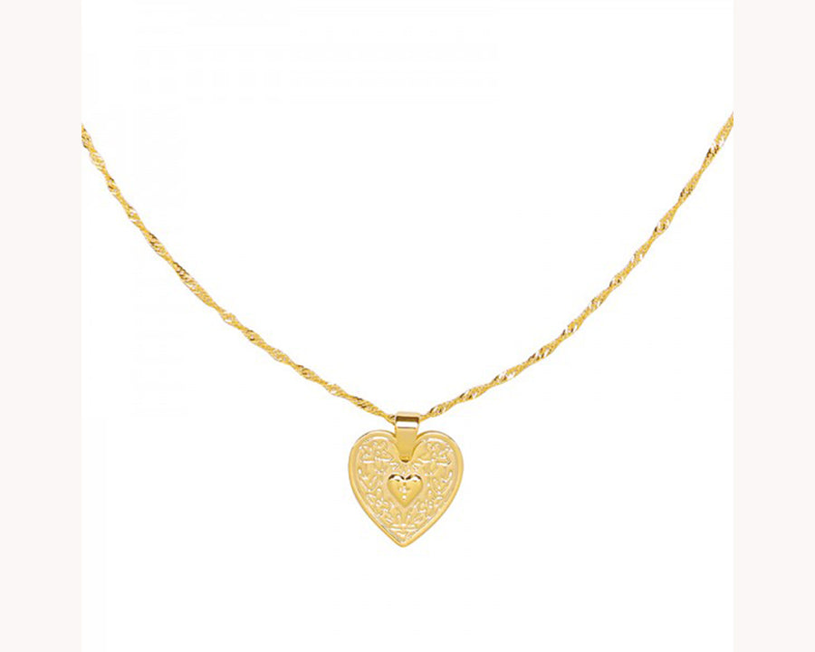 heart pendant necklace UAE