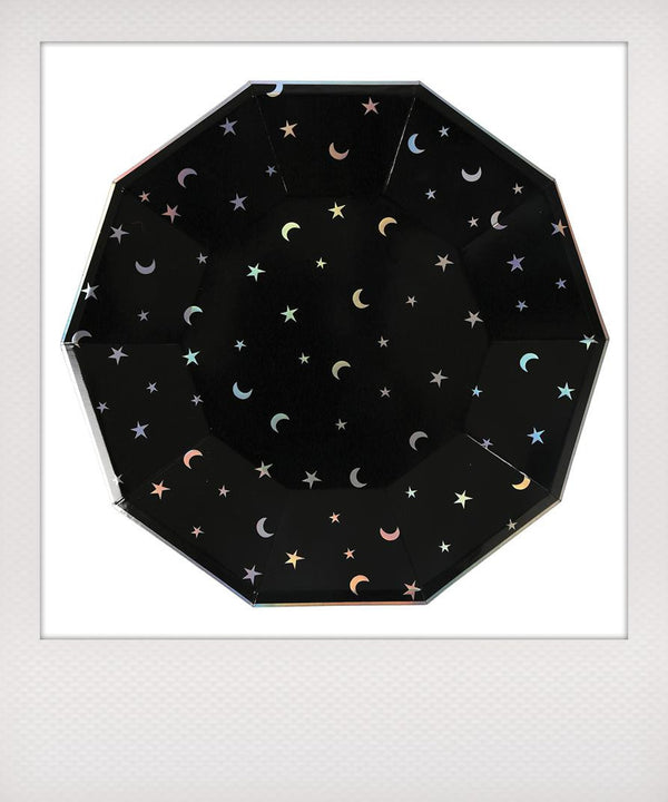 Stars & Moons Paper Plates