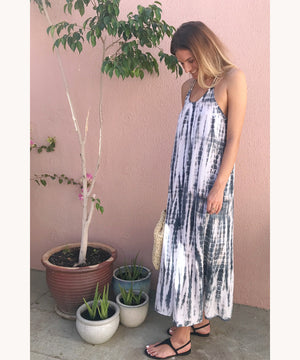 summer dress tie dye