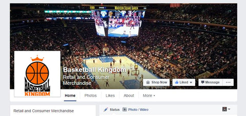 Basketball Kingdom Facebook Page