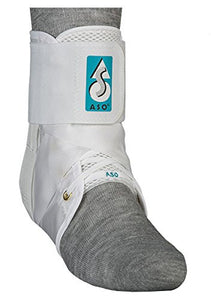 Basketball ASO Ankle Brace White