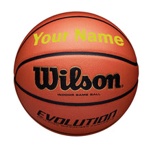 Load image into Gallery viewer, Customized Wilson Evolution Gold