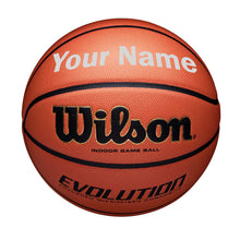 Load image into Gallery viewer, Customized Wilson Evolution Silver