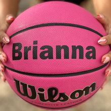 Load image into Gallery viewer, Custom Wilson Pink Basketball