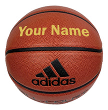 Load image into Gallery viewer, Customized Adidas Basketball Gold