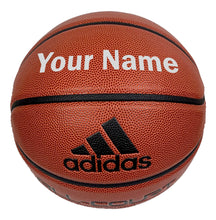Load image into Gallery viewer, Customized Adidas Basketball Silver