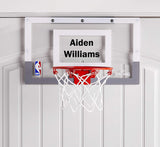 Customized Spalding Mini Basketball Hoop Example
