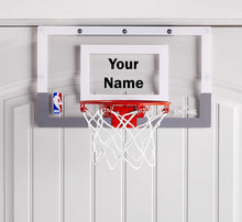 Load image into Gallery viewer, Customized Spalding Mini Basketball Hoop Black