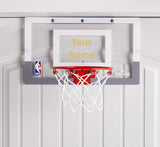 Customized Spalding Mini Basketball Hoop Gold
