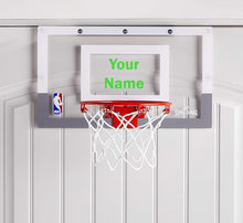 Load image into Gallery viewer, Customized Spalding Mini Basketball Hoop Green