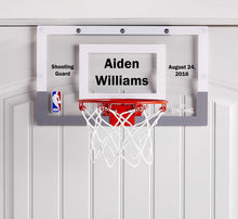 Load image into Gallery viewer, Customized Spalding Mini Basketball Hoop Example 2