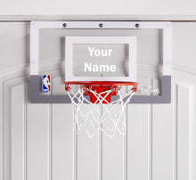 Load image into Gallery viewer, Customized Spalding Mini Basketball Hoop White
