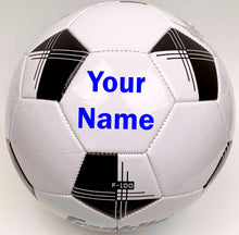 Load image into Gallery viewer, Customized Soccer Ball Blue