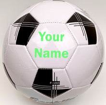 Load image into Gallery viewer, Customized Soccer Ball Bright Green