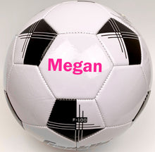 Load image into Gallery viewer, Customized Soccer Ball Pink