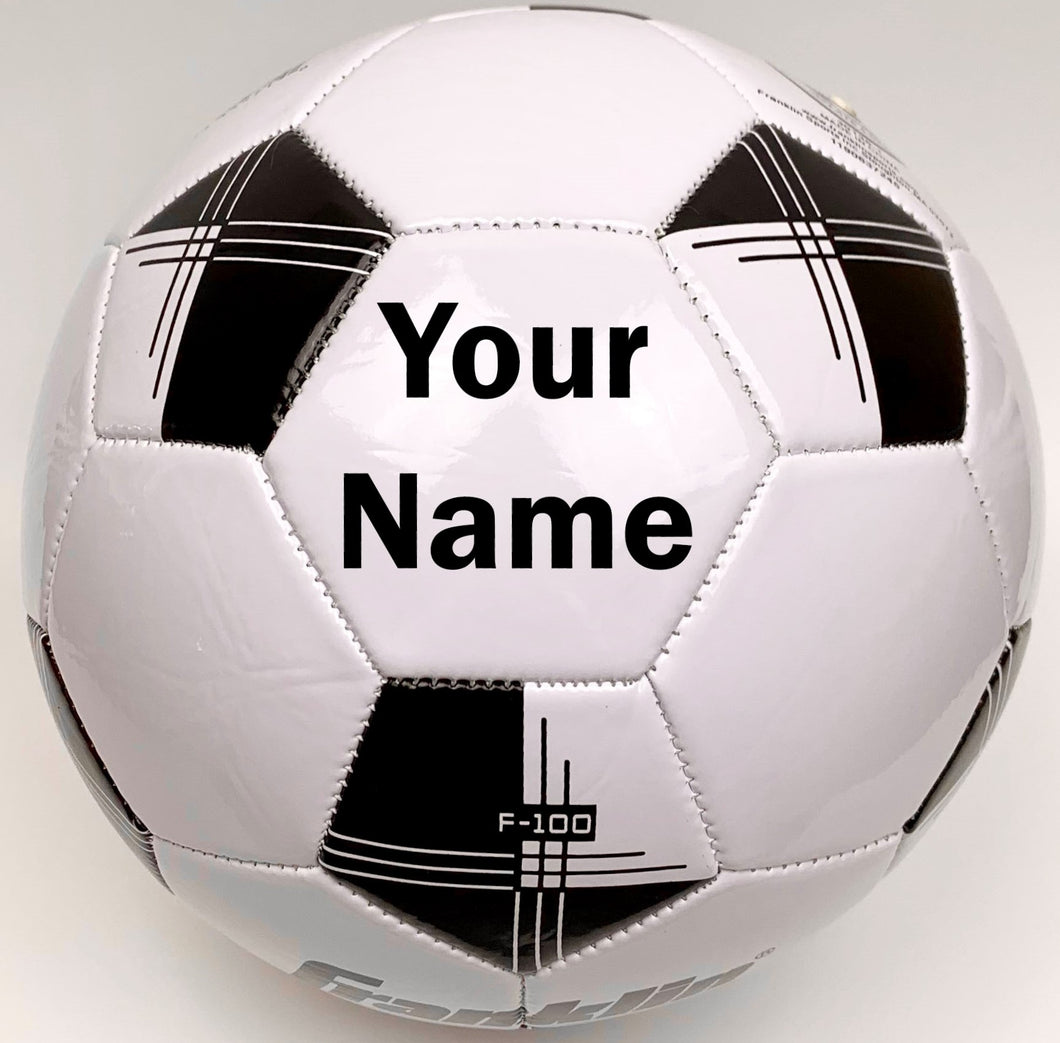 Customized Soccer Ball Black