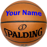 Customized Spalding Official NBA Basketball Blue
