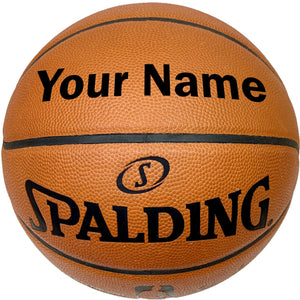 Customized Spalding Official NBA Basketball