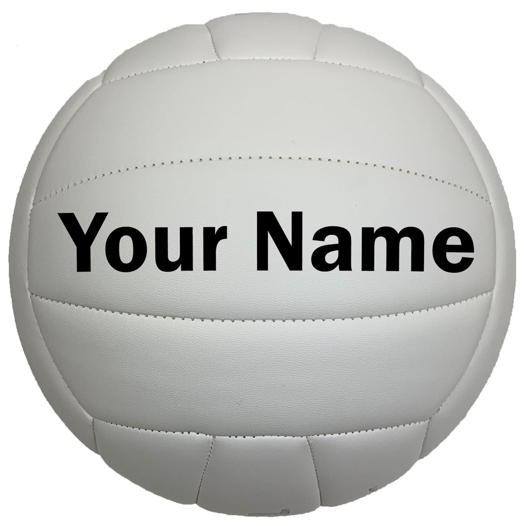 Customized Wilson Soft Play Volleyball Black