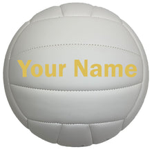 Load image into Gallery viewer, Customized Wilson Soft Play Volleyball Gold