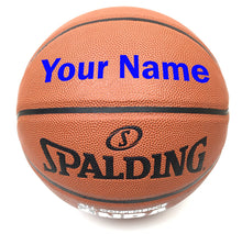Load image into Gallery viewer, Customized Spalding All Conference Basketball Blue