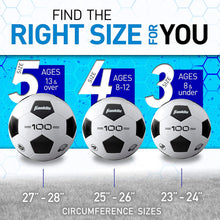 Load image into Gallery viewer, Soccer Ball Size Chart