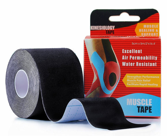 Kinesiology Tape Black