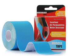 Load image into Gallery viewer, Kinesiology Tape Light Blue
