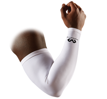 Load image into Gallery viewer, McDavid Compression Arm Sleeve White