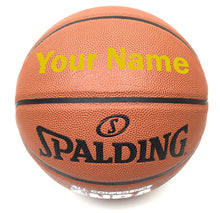 Load image into Gallery viewer, Customized Spalding All Conference Gold