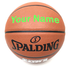 Load image into Gallery viewer, Customized Spalding All Conference Green