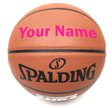 Load image into Gallery viewer, Customized Spalding All Conference Pink