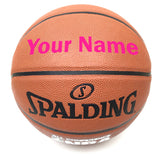 Customized Spalding All Conference Pink