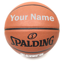 Load image into Gallery viewer, Customized Spalding All Conference Silver