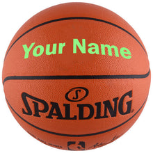 Load image into Gallery viewer, Customized Spalding NBA Replica Bright Green