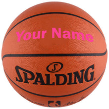 Load image into Gallery viewer, Customized Spalding NBA Replica Pink