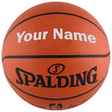 Customized Spalding NBA Replica Silver