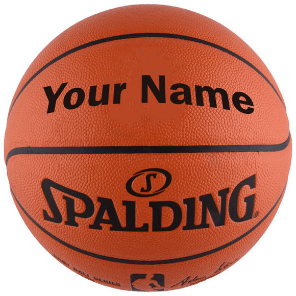 Custom Spalding NBA Replica Indoor Outdoor Game Basketball