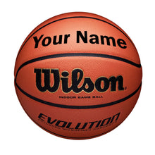 Load image into Gallery viewer, Customized Wilson Evolution Indoor Basketball