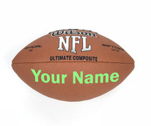 Load image into Gallery viewer, Customized Wilson NFL Football Bright Green
