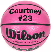 Load image into Gallery viewer, Customized Personalized Wilson Pink Basketball
