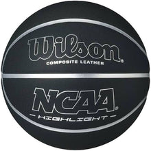 Load image into Gallery viewer, Wilson Black and Silver Basketball