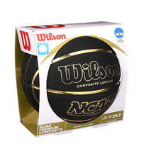 Load image into Gallery viewer, Wilson Black and Gold Basketball