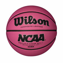 "Load image into Gallery viewer, Customized Personalized Wilson Pink Basketball Indoor Outdoor Size 6 28.5"" Custom Gift"