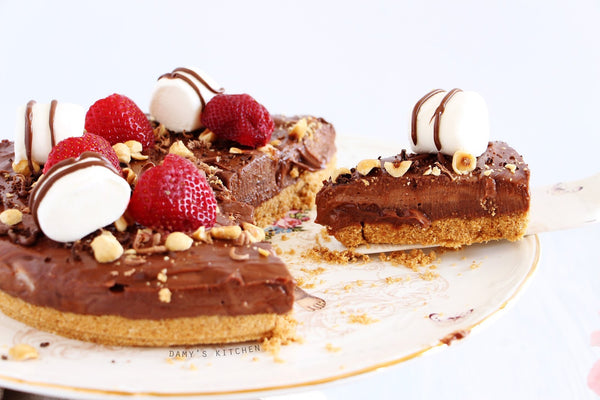 DAMY'S KITCHEN - NUTELLA CHEESECAKE (8 Kişilik)