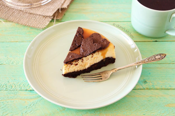 tariften tabaga - DAMY'S KITCHEN - BROWNIE CHEESECAKE - 5