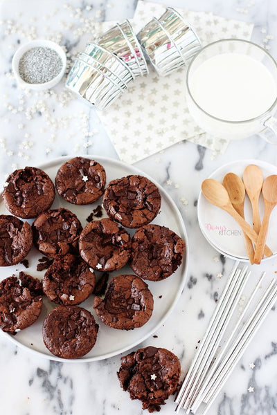 tariften tabaga - DAMY'S KITCHEN - BROWNIE MUFFIN - 6