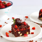 tariften tabaga - DAMY'S KITCHEN - ÇİLEKLİ BROWNIE - 1